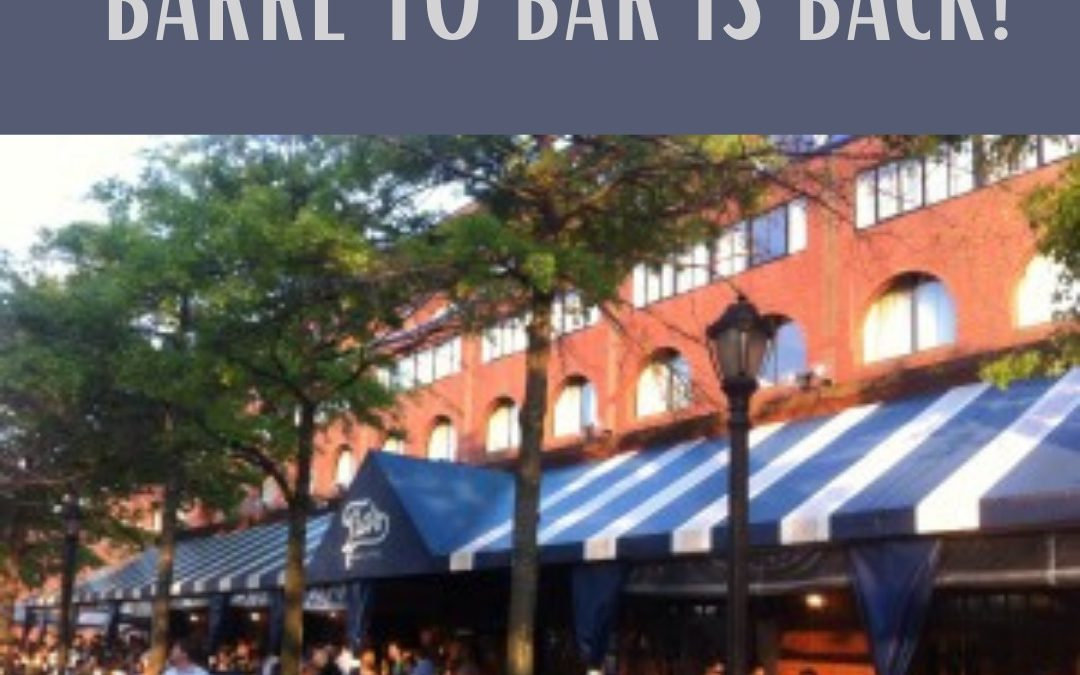 Barre to Bar is here!